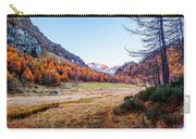 Fall Colors At Alpe Devero Carry-all Pouch