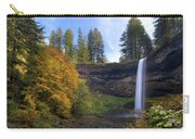 Fall Colors At South Falls Carry-all Pouch
