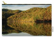 Fall Colors On Lake Reflection Carry-all Pouch