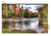 Fall Colors On The Moose River Carry-all Pouch