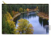 Fall Colors On The River Carry-all Pouch