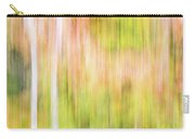 Fall Colours Abstract, Oxtongue River, Algonquin Highlands Carry-all Pouch