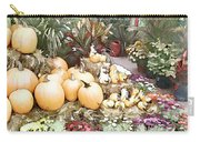 Fall Decorating At The Market Carry-all Pouch