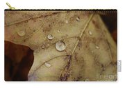 Fall Droplets Carry-all Pouch