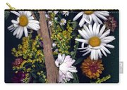 Fall Floral Collage Carry-all Pouch