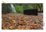 Fall Foliage At Horsetail Falls Carry-all Pouch