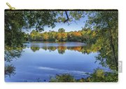 Fall Foliage At Turners Pond In Milton Massachusetts Carry-all Pouch