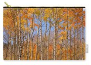 Fall Foliage Color Vertical Image Carry-all Pouch