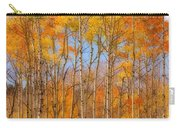 Fall Foliage Color Vertical Image Orton Carry-all Pouch