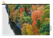 Fall Foliage In Hudson River 1 Carry-all Pouch