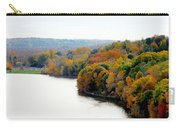 Fall Foliage In Hudson River 13 Carry-all Pouch