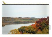Fall Foliage In Hudson River 5 Carry-all Pouch
