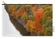 Fall Foliage In Hudson River 6 Carry-all Pouch