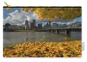 Fall Foliage In Portland Oregon City Carry-all Pouch