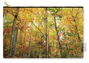 Fall Foliage On The Hike Up Mount Monadnock New Hampshire Carry-all Pouch