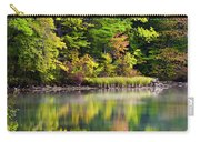 Fall Foliage Reflection Carry-all Pouch