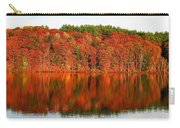 Fall Foliage Reflection Kennebec River Hallowell Carry-all Pouch