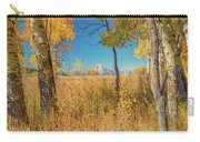 Fall From Oxbow Bend In Grand Tetons Carry-all Pouch