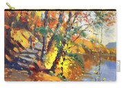 Fall In Bear Mountain Carry-all Pouch