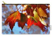 Fall In Maple Ridge Carry-all Pouch