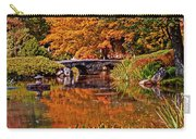 Fall In The Japanese Gardens Carry-all Pouch