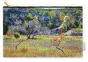 Fall In The Texas Hill Country Carry-all Pouch