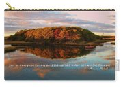 Fall In Wellfleet Quote Carry-all Pouch