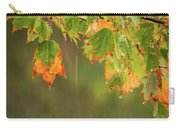 Fall-ing Rain Square Carry-all Pouch