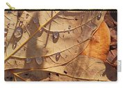 Fall Leaves And Dew 5 2017 Carry-all Pouch
