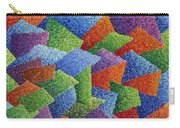 Fall Leaves On Grass Carry-all Pouch by Sean Corcoran