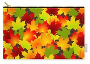 Fall Leaves Quilt Carry-all Pouch