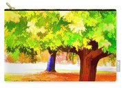 Fall Leaves Trees 1 Carry-all Pouch