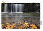 Fall Maple Leaves At Hidden Falls Carry-all Pouch