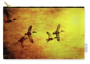 Fall Migration . Northern Shovelers . Texture . 40d5393 Carry-all Pouch
