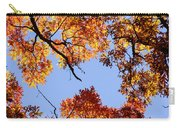 Fall Oak Leaves Up Above Carry-all Pouch