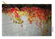 Fall On The Wall Carry-all Pouch