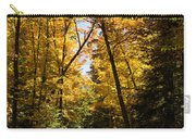 Fall Path In Golden Yellow Carry-all Pouch