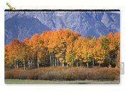 Fall Reflection At Oxbow Bend Carry-all Pouch