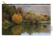 Fall Reflection Below The Hills In Prosser Carry-all Pouch