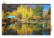 Fall Reflections At The Double Eagle Carry-all Pouch