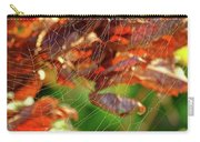 Fall Spiderweb Carry-all Pouch