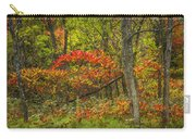 Fall Sumac Trees With Red Leaves In A Michigan Forest During Autumn Carry-all Pouch