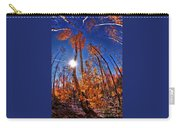 Fall Sun And Trees Carry-all Pouch