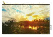 Fall Sunset At Lake Murray San Diego Carry-all Pouch