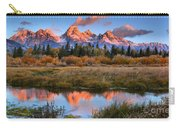 Fall Teton Tip Reflections Carry-all Pouch
