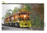 Fall Train In Color Carry-all Pouch by Rick Morgan