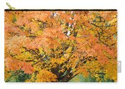 Fall Tree Art Print Autumn Leaves Carry-all Pouch