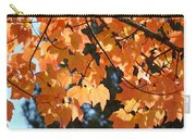 Fall Tree Art Prints Orange Autumn Leaves Baslee Troutman Carry-all Pouch