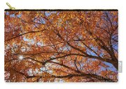 Fall Tree With Star Burst Carry-all Pouch