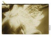 Fallen Angel Vertical Gold Carry-all Pouch